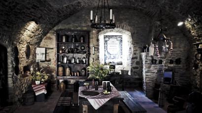 Spišský hrad - pohľad do hradnej kuchyne