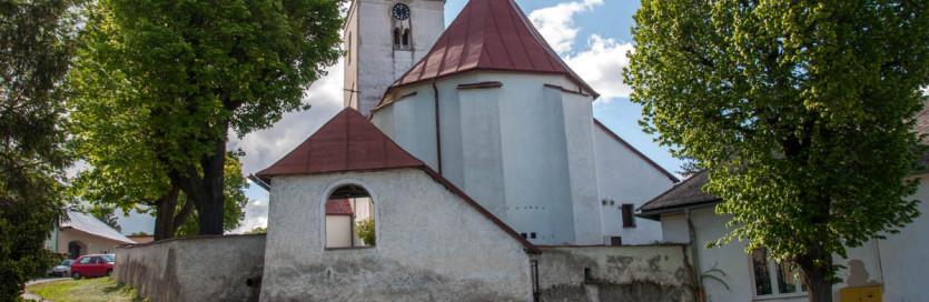 Mlynica, rímskokatolícky kostol z 13. stor.