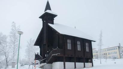 Dolný Smokovec, drevený rímskokatolícky kostol | Hotel Slovan