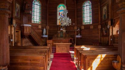 Tatranská Javorina, drevený rímskokatolícky kostol | Hotel SLOVAN ***