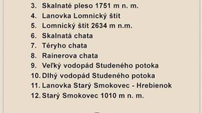 Hotel Slovan***, Tatranská Lomnica, turistická vizitka