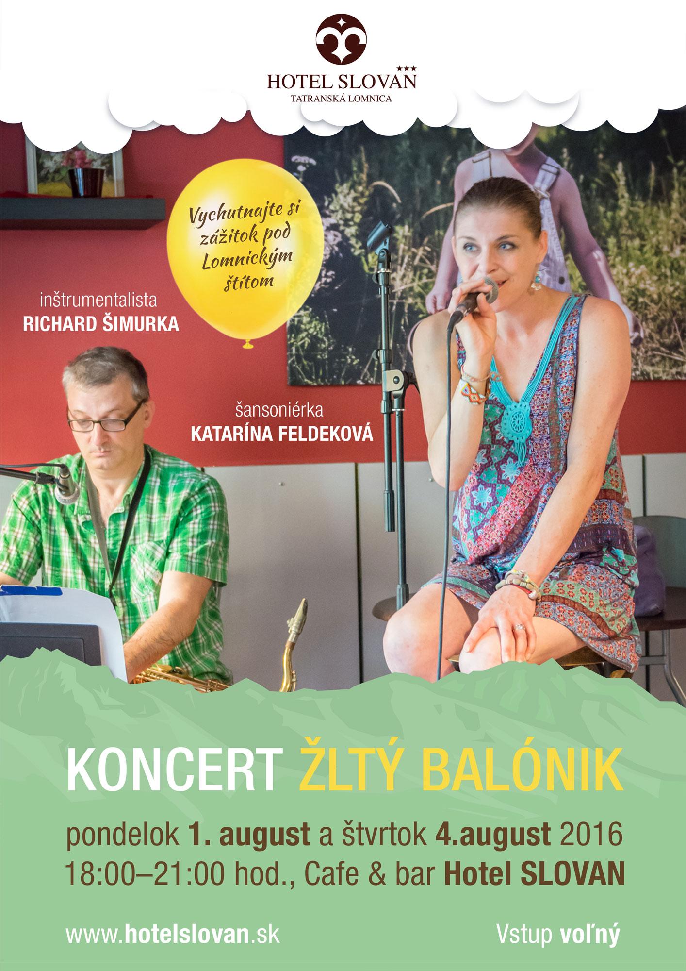 Koncert Katarína Feldeková